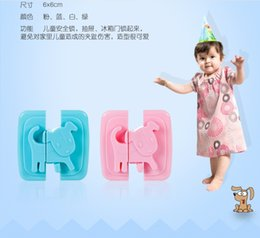 Wholesale Bendy Door Drawers - Wholesale- DOG Bendy Safety Plastic Locks For Child Kids Cabinet Door Drawers Refrigerator Toilet Safety Lock Baby Protection