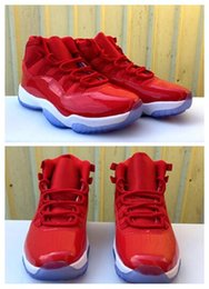 Wholesale Elastic Silk Satin - High quality Air Retro 11 XI Low Gym Red White Men Basketball Shoes women Sports Sneakers new trainers cheap discount size 36-47