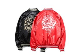 Wholesale Mens Military Cotton Jacket - CHINISM Brand High Quality Ma1 Army Military aape Red Varsity Flight Jacket Mens Bomber Pilot US Air Force Men Jacket