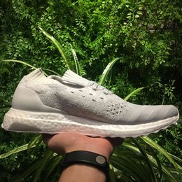 Wholesale Tech Sale - Ultraboost Uncaged Tech Earth & Ultra Boost Mystery Red Shoes For Men & Women On Sale,Triple Black & Triple White Ultra Boost Shoes With box