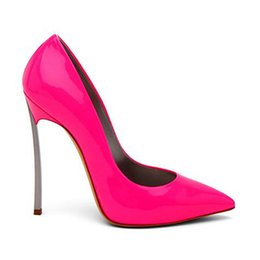 Wholesale Womens Pink Pumps - Sexy Shoes Woman High Heels Sandal Stiletto Heels Women Pumps Party Wedding Shoes Patent Leather Womens Shoes