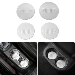 Wholesale Accessories For Automobiles - Car Interior Accessories Automobile Cup Support Pad Drink holder pad 4 doors Fit For Jeep Wrangler 2011-2016