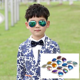 Wholesale Black Frame Glasses For Kids - HOT Kids Sunglass Children Beach Supplies Sunglasses Childrens Fashion Accessories Sunscreen baby for boys Girls awning kids Glasses