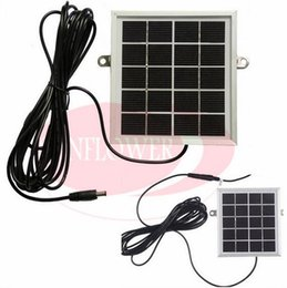 solar panel free shipping Promo Codes - Wholesale- Solar Power Panel Charger for Wireless Video Door Phone Outdoor Camera 2W 5V Free shipping
