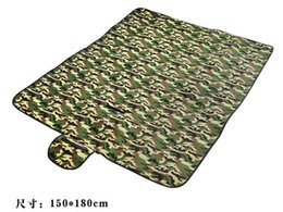 Wholesale Baby Outdoor Mat - Outdoor military camouflage picnic mat tent tide pads baby crawling pad 180 * 150