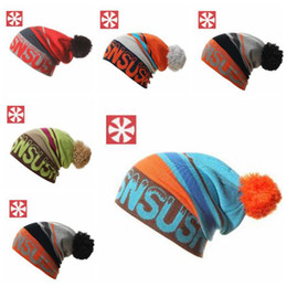 Wholesale Masks For Boys - Women Winter Knitted Hats Gorro Beanie For Men Women Beanies Mask Hat Bonnet Outdoor Sport Skiing Chapeu Cap TOP2023