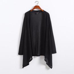 Wholesale Cardigan Sweaters Large Women - Wholesale-Novelty XXL-7XL Plus Size Women Metallic Open Cardigan Sweater Big Large Size Clothing Oversize 4XL 5XL 6XL XXXXL 2016 Autumn