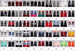 Wholesale Bonnets For Girls - 2017 brand Beanies Fashion Unisex Spring Winter Hats for Men women Knitted Beanie Wool Hat Man Knit Bonnet Beanie Gorros Thicken Warm Cap