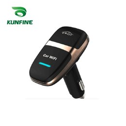 Wholesale Lte Hotspot - Car Styling 4G Lte Car Wifi Router Mobile Hotspot Car Mini WiFi Cigarette lighter Wi-fi Router With Double USB Charger Universal Standard