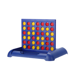 Wholesale Toy Baby Games - Wholesale- Kid Child Educational Toy Connect 4 Game Children's Educational Board Game Toys Baby Kids Math Toy Gift