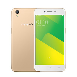 Wholesale Oppo Mp3 - Original Oppo A37 Mobile Phone MTK6750 Octa Core 2GB RAM 16GB ROM Android 5.1 5.0 inch IPS 2.5D Glass 8.0MP 4G LTE NFC OTG Smart Cell Phone