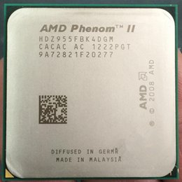 Wholesale Amd X4 - x4 955 Original for amd phenom ii x4 955 Processor Quad-Core 3.2GHz 6MB L3 Cache Socket AM3 scattered pieces cpu