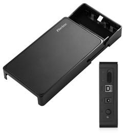 Wholesale usb hard drive adapter sata - Wholesale- Zheino 3.5 Inch USB 3.0 Hard Drive Disk HDD External Enclosure Case, 12V 2.5A Power Adapter & USB3.0 Data Cable Tool-free