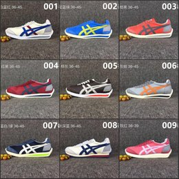 Wholesale Cheap Pink Shoes For Women - 2017 Wholesale New Style Asics Onitsuka Tiger Running Shoes For Men Women Simple Style Cheap Sport Shoes Sneakers Eur36-44 Free Shipping