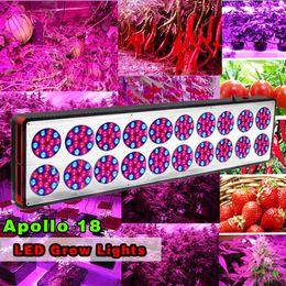 Wholesale 3w High Power Led Red - Apollo 18 (270*3w)LED Grow Light 800W Full spectrum high-power last light Vegetable seed seedling growth lamp lights
