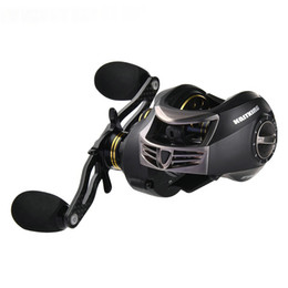 Wholesale Baitcasting Reel High Speed - Stealth Dual Brake System 11+1 BB High Speed Baitcasting Reel Gear Ratio 7.0:1 Spinning Fishing Reel