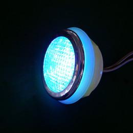 Wholesale Led Spa Bath - Wholesale- 4pcs waterproof RGB color 2.0W RGB LED underwater Spa light bath tub lamp with 1pc manual light controller 1pc transformer