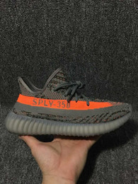 Wholesale Winter Boots Size 13 - 2017 New Boost Sply 350 V2 BB1826 Beluga Orange Grey CP9654 Zebra Black White Core Black Red BY9612 Kanye West Running Shoes Size 5-13