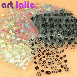 Wholesale High Quality Sheet Sell - Wholesale- 10pc Sheets Nail Art Transfer Stickers 3D Design Manicure Tips Decal Decorations high quality hot selling