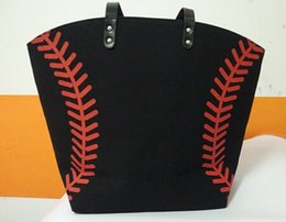Wholesale martial arts material - different sports bag soccer Baseball Tote Bags Sports Bags Casual Tote Softball Bag Football Soccer Basketball Bag Cotton Canvas Material