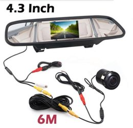 "Wholesale Rear View Safety Camera - 4.3"" TFT Car Monitor+Rear View Wired Camera Safety Reversing Parking System"