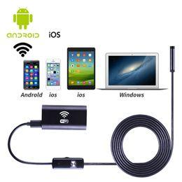 Canada Gros-1 M / 1,5 M / 2 M / 3,5 M / 5 M Universal 720 P étanche téléphones portables Endoscope Inspection endoscope caméra pour IOS pour Android cheap inspection camera wholesale Offre