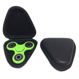 high quality hand fidget spinner Promo Codes - High Quality Fidget Spinner Box Case For Dustproof Hand Spinner EDC Fidget Spinner Focus Fingertip Gyro Toy Dropship