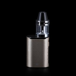 Wholesale Electronic Cigarette Start - Portable electronic cigarette mini start kit ECT C30 mini kit 30W box mod vaperizer pen 2.0ml met atomizer 1200mah battery vs kanger