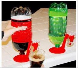 Mini fontane online-Mini fontane rovesciabili Fizz Saver Cola Soda Beverage Switch Drinkers Distributore automatico di acqua a pressione manuale