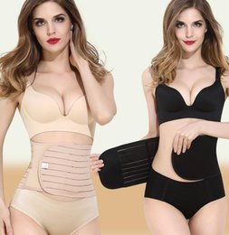 Wholesale Tummy Trimmers - Breathable Women Postpartum Recovery Belt Pregnancy Girdle Slimming Belly Control Tummy Trimmer Waist Shaper Maternity Slimming Belt KKA1613