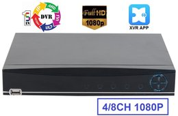 Wholesale Cctv Recorder Ch - XVR app 5IN1 8CH 1080P@15FPS CH AHD-H DVR NVR XVR CCTV 1080P Hybrid Security Recorder Camera Onvif RS485 Coxial Control P2P Cloud