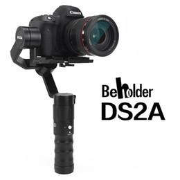 steadicam iphone Rebajas El último BEHOLDER DS2A DS2R Estabilizador de cardán de mano de 3 ejes con codificador para cámara DSLR Peso máximo de soporte 1.8 kg