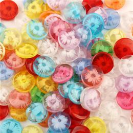 bonecas congeladas congeladas Desconto 500 Pcs 13 Cm Botão de Costura Strass Transparente Congelado Flor Acessórios Material de Costura Suprimentos Para Roupas DIY Boneca