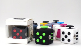 Wholesale Magic Gags - Magic Fidget Cube Anxiety Stress Relief Better Focus Toys Holiday Gift Children Adults Novelty Gag Decompression Toy 11colors