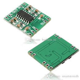 Wholesale 5v Power Amplifier - Digital DC 5V Amplifier Board Class D 2*3W USB Power PAM8403 Audio Module B00238 JUST