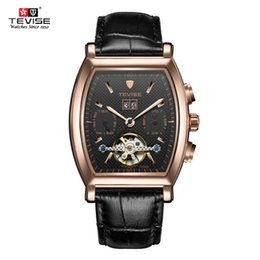 Wholesale Hong Watch - Hong Kong brand TEVISE Tourbillon watch multi - functional business waterproof automatic mechanical watch men 's watches WH05