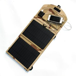 Wholesale Solar Charger Foldable - 10W 5V Foldable Solar Panel Charger Monocrystalline Solar Cell Charger
