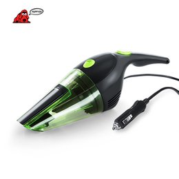 Wholesale Mini Car Dust Collector - PUPPYOO Powerful Portable Car Charge Mini Handheld Vacuum Cleaner Light Dust Collector DC 12V Power 120W Green Catcher D-708