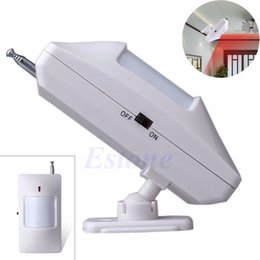 Wholesale 433mhz Wireless Pir - Wholesale-For Wireless Motion PIR Infrared Detector Burglar Security Alarm System 315 433MHz Consumer Electronics