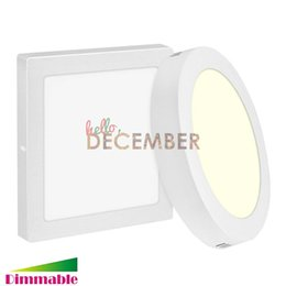 Wholesale Dimmable Ceiling Light - 9W 15W 21W 24W LED Panel Lights Dimmable 5-7-9-12 Inch Surface Mounted LED Ceiling Lamp LED Downlights