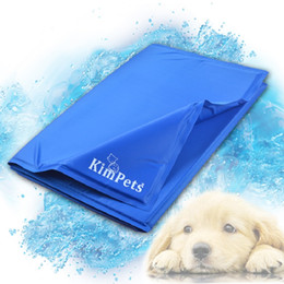 Wholesale Mattress Cool - Cool!!Pet Cool Ice Pad Teddy Mattress Mat Small And Large Dogs Cat Cage Cushion Summer Keep Cool Bed Kimpets