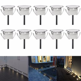 Wholesale  10PCS Decorative Garden Pavers Recessed Led Floor Lights DC12V  IP67 Waterproof Stair Step UndergroundCanada Recessed Deck Lighting Led Supply  Recessed Deck Lighting  . Outdoor Deck Lighting Canada. Home Design Ideas