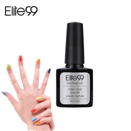 Wholesale One Step Gel Led - Wholesale-Elite99 Hot Sale Nail UV Gel One Step 10ml 60 Fashion Color for Choose Long-lasting LED Gel Polish Top Fashion Limited Sale