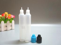 2019 bouteilles en plastique vapeur liquide Bouteilles de 30 ml pour e-liquide bouteille compte-gouttes en plastique avec bouchon coloré pour enfants 30L stylo Style Vape Ejuice bouteille livraison gratuite bouteilles en plastique vapeur liquide pas cher
