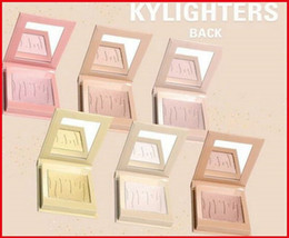 Wholesale Multi Sampling - 2017 HOTest New Kylie Cosmetics Highlighters Kylighters In Banana Split Kylighter kylie eyeshdow free shipping for sample test