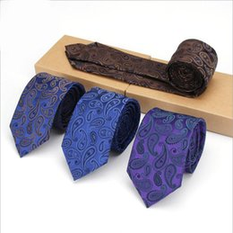 Wholesale Mens Cravat Tie - Floral Ties For Men Skinny Mens Ties Gravatas Slim Corbatas Vestidos Wedding Cotton Groom Neck Tie Cravat Neckties