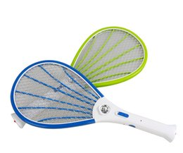 Wholesale Electric Racket - Hand Racket Electric Swatter Home Garden Pest Control Insect Bug Bat Wasp Zapper Fly Mosquito Killer