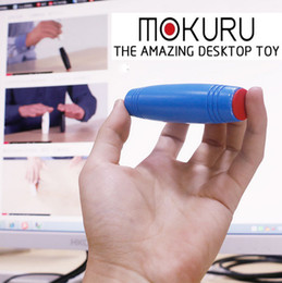Wholesale Novelty Toys Gag Gifts - 2017 Fidget Rollver Fidget Toys Mokuru Novelty Gag Toys Decompression Toy 9.2*2.5cm Good Quality Popular Toys Christmas Gift