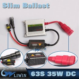 Wholesale Slim Ballast Hid Conversion Kit - Auto Headlight HID Ballast Slim Xenon Ballast 12V35W DC Xenon Replacement Electronic Digital Conversion Ballast Kit