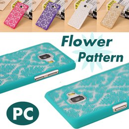 Wholesale Vintage Cases For Galaxy Grand - Vintage Damask Flower Pattern PC Case Cover For Samsung Galaxy S6 S7 Edge J5 J7 Grand Prime S3 S4 S5 Free Shipping